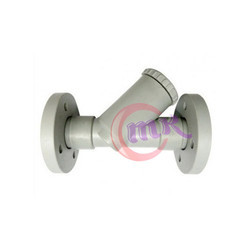 PP Y Type Strainer Flanged End