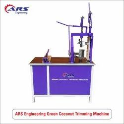 Automatic Tender Coconut Trimming Machine