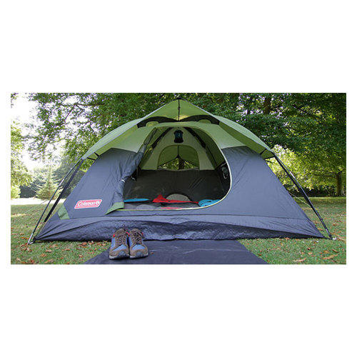 Green u0026 Grey Dome Coleman Sundome 3 Person Tent Size 7ft X7ft  sc 1 st  IndiaMART : coleman tent 3 person - afamca.org