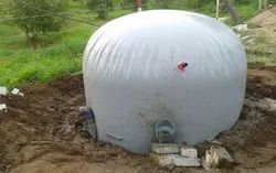 1 CMD Flexi Portable Biogas Plant for Home Use