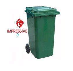 120 Ltr Wheel Garbage Dustbin Waste Trash Bucket Dustbin With Lid And Strong Wheels