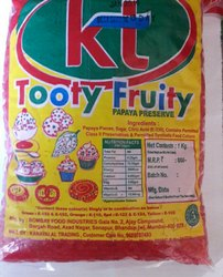 Red Tutty Fruity