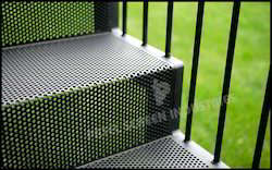Powder Coated Perforated Mild Steel Sheets