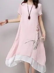Soft Cotton Color Hand Embroidery Emroidery Kurti