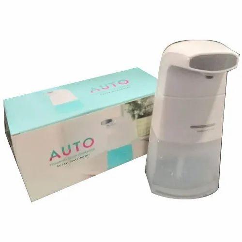 Plastic Automatic Auto Foaming Soap Dispenser, Rs 1000 /piece S.M.V.  BIOTECH | ID: 22507116962