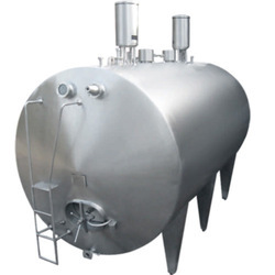 Stainless Steel Cylindrical Tank