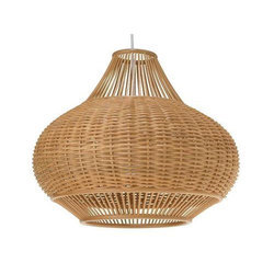 Malaysian Cane Hanging Lamp