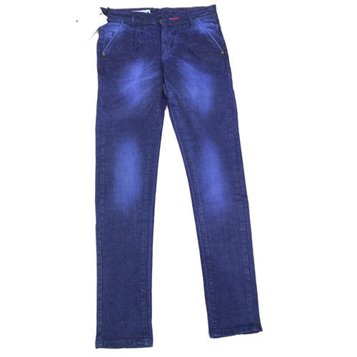 4838085ae5 Mens Casual Wear Blue Faded Jeans