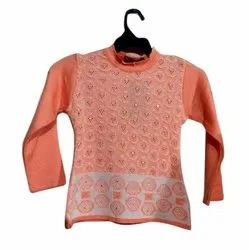 Fancy Girl Woolen Top