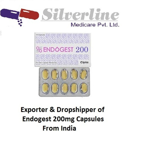 Endogest 200mg Capsules, for Personal, 10