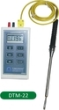 Thermometer DTM-22 with Leaf Type Probe