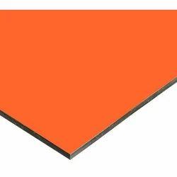 Orange Aluminum Composite Panel