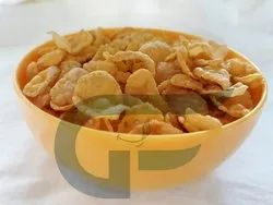 Plain Natural Corn Flakes, For Breakfast Cereal, Packaging Type: Box