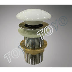 4 inch White Pop Up Waste Coupling