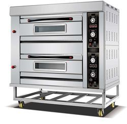 Electrical Double Deck Oven Single Tray