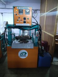 Hydraulic Dona and Thali Making Machine