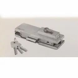 Stainless Steel Glass Lock