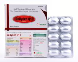 Dailyrich Q10 Multivitamin Minerals with Extra Power of Co-Enzyme Q10 Capsules
