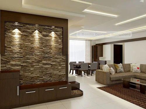 . Simple False Ceiling Interior Designing Service in Bellandur
