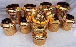 Wooden Dwajasthambam