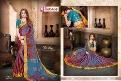 Soft Banarasi Matka Silk Saree