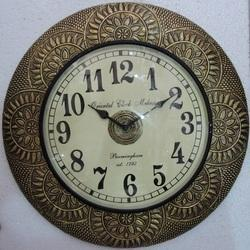Design Brass Fitted Wall Clock