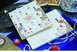 Box Invite White ROYAL WEDDING CARD