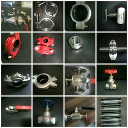 Industrial RO Plants Fittings And Valves