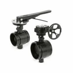 AWWA Grooved Butterfly Valve
