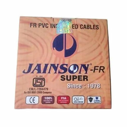 220V Jainson Electrical Wires, Crossectional Size: 1 Sqmm., Conductor Type: Unarmoured