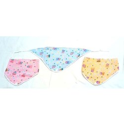 Blue, Pink And Yellow Cotton Baby Printed Nappies, Size: Zero