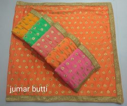 Party Wear Saree Jumar Butti