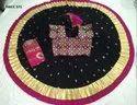 Black, Purple Party Wear Ladies Cotton Bhadhani Chaniya Choli, Dry Clean