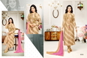 Collar Neck Full Sleeve Moof Salwar Suit Fabric