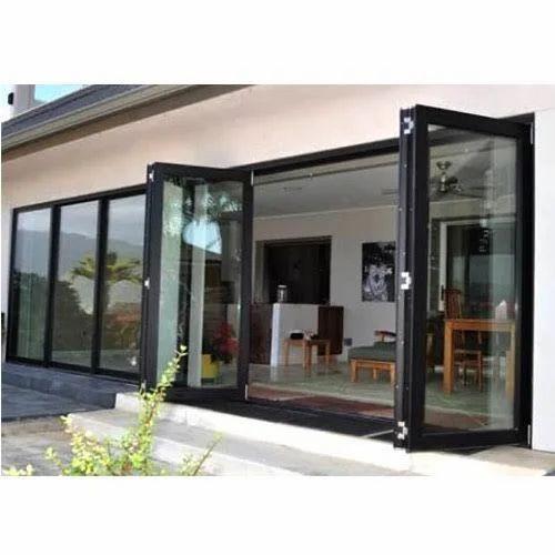 Aluminium Folding Door at Rs 200 /square feet | Kudasan ...