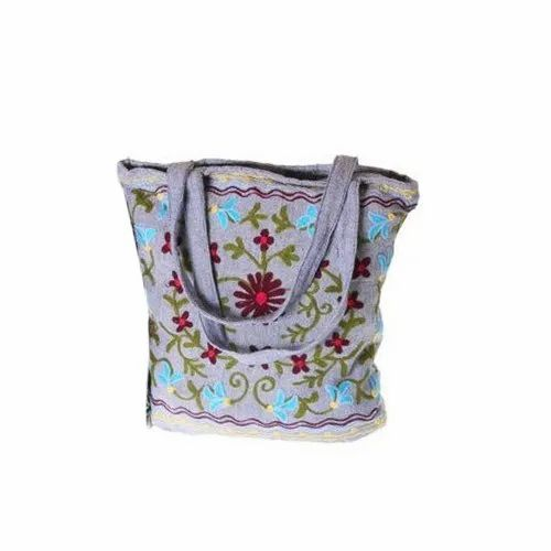 Cotton Embroidered Bag