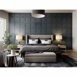 Modern Teak Wooden Designer Bed