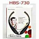Black White Abs Hbs 730 Bluetooth Headset, Weight: 99.8 G