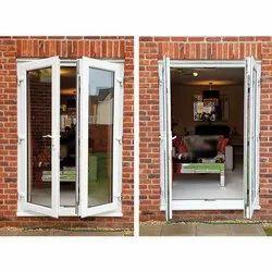 Sliding Toughened Glass Used UPVC Doors