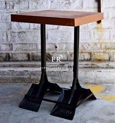 Vintage Industrial Cafe Tables