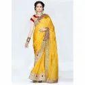 Ladies Embroidered Silk Sarees