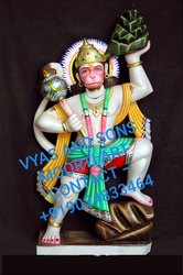 Anjani Putra- Hanuman Marble Statue