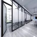 Almunium Glass Partition