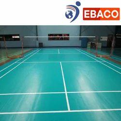 Badminton Court Construction, in India