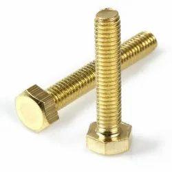 Full Thread Brass Bolts