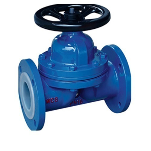 Stainless Steel Weir Type Diaphragm Valve, Size: Pn16, | ID: 20452554830