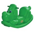 Plastic Green Puppy Ride On Toy