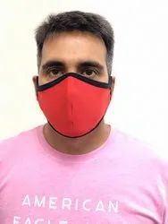 Washable Stretchable Reusable Face Mask Premium Fabric for Corporates