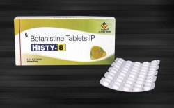 Betahistine Mesylate 8 Mg & 16 Mg