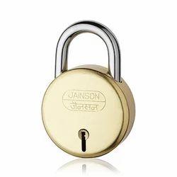 Jainson With Key Kranti Brass Levers Padlock, Padlock Size: 75 mm, Packaging Size: <10 Piece